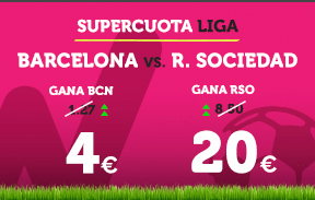 noticias apuestas Supercuota Wanabet la Liga: Villareal cuota 9 vs R. Madrid a cuota 7
