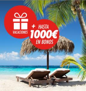 noticias apuestas Circus Mundial gana unas vacaciones + 1000 en bonos