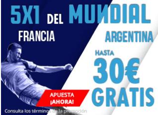 noticias apuestas Suertia Francia - Argentina hasta 30€ gratis