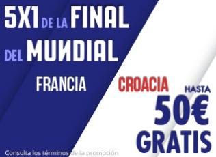 noticias apuestas Suertia Final Mundial 5x1 Francia Croacia