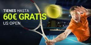 Tienes hasta 60€ gratis US Open en Luckia