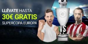 Llevate hasta 30€ gratis con la supercopa Europa en Luckia