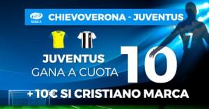 Megacuota 10  que gana Juventus en Paston