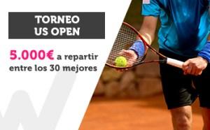 Torneo US Open 5000€ a repartir entre los 30 mejores