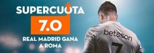 Megacuota 7 Real Madrid Champions League Betsson
