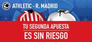 Athletic v R.Madrid tu segunda apuesta es sin riesgo en Sportium