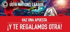 UEFA Nations haz una apuesta y te regalamos otra en Sportium
