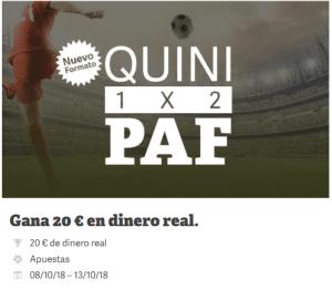 Quini Paf 1x2 en Paf