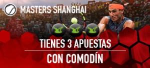 Master de Shangai tienes 3 apuestas con comodin en Sportium