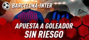 Barcelona-Inter apuesta a goleador sin riesgo con Sportium