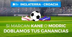 Inglaterra-Croacia si marcan Kane o Modric doblamos tus ganancias en Paston