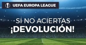 Europa league si no aciertas devolucion en Paston