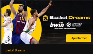 Basket dreams,gana un viaje vip a la final four con Bwin