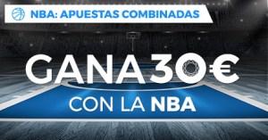 NBA: combinadas gana hasta 30€ en Paston