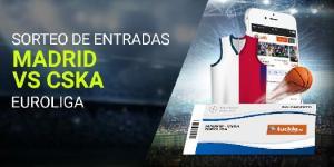 Sorteo de entradas Madrid-Cska en Luckia
