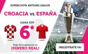 Megacuota 6 España gana en Wanabet