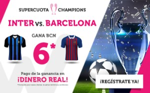 Megacuota 6 para el Barcelona en Champions