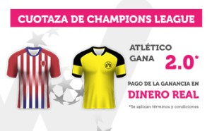 Cuotaza 2.0 para el Atletico en Champions