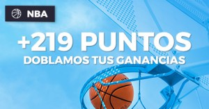 Nba +219 puntos doblamos tus ganancias en Paston