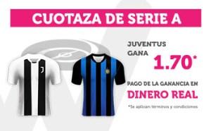 Cuotaza Serie A 1.70 Juventus gana en Wanabet