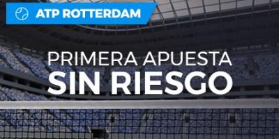 ATP Rotterdam primera apuesta sin riesgo en Paston