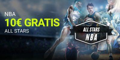 NBA 10€ grtis All Star en Luckia