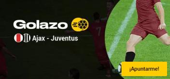 Golazo Ajax-Juventus,gana el doble en Bwin