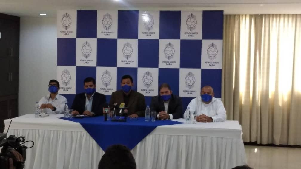 Fútbol Unido presentó sus candidatos a la AFEL: «Aspiramos que se ejecute la culminación del Estadio Metropolitano de Cabudare»
