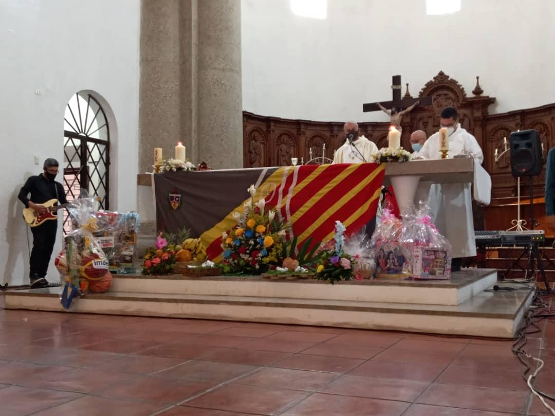 Ofrecen misa en conmemoración al aniversario de Barquisimeto