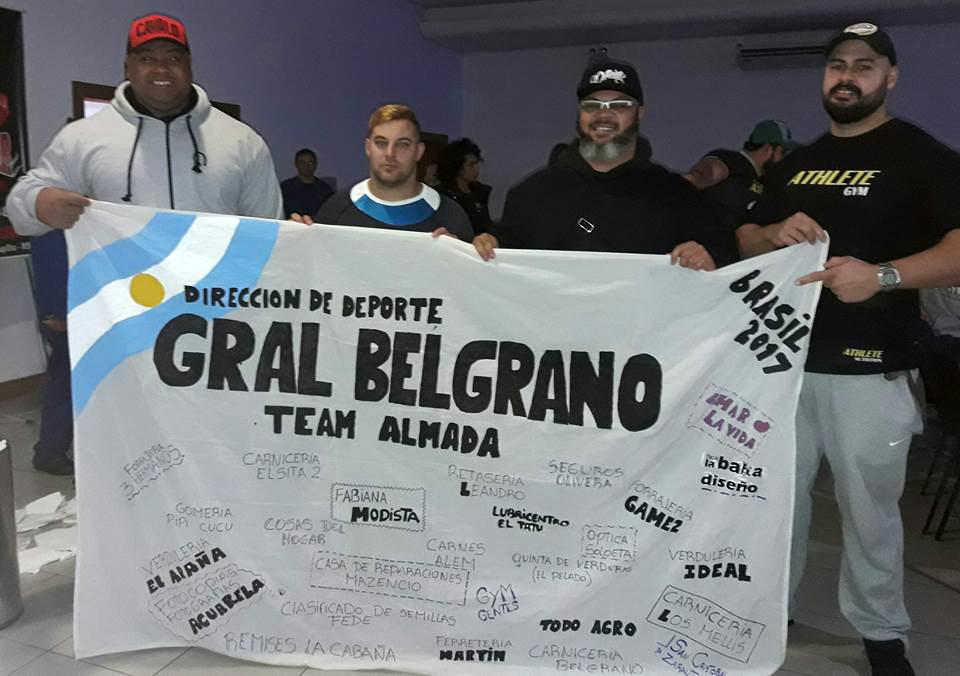 GUSTAVO ALMADA CLASIFICO AL MUNDIAL DE LAS VEGAS