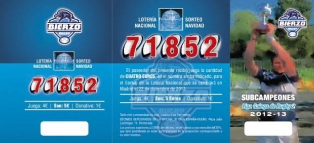 Loteria Bierzo Rugby 2013