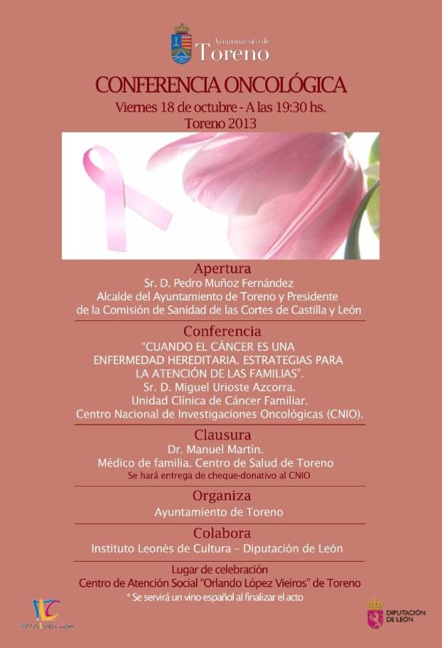 conferencia oncologica toreno
