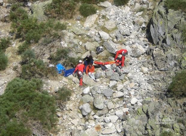 rescate escalador los galayos