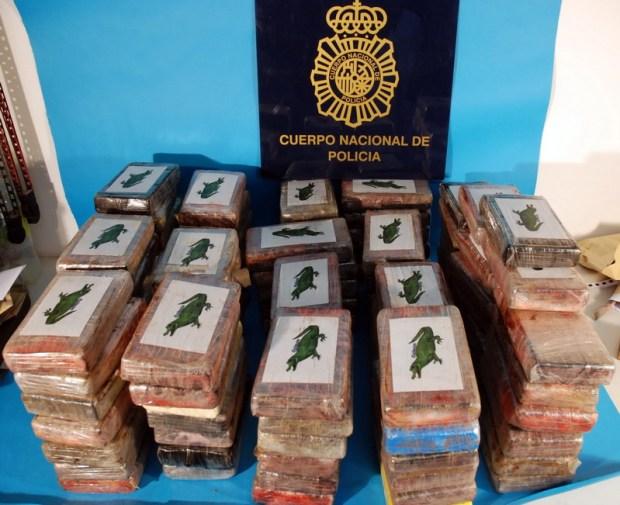 100 kilos cocaina marin