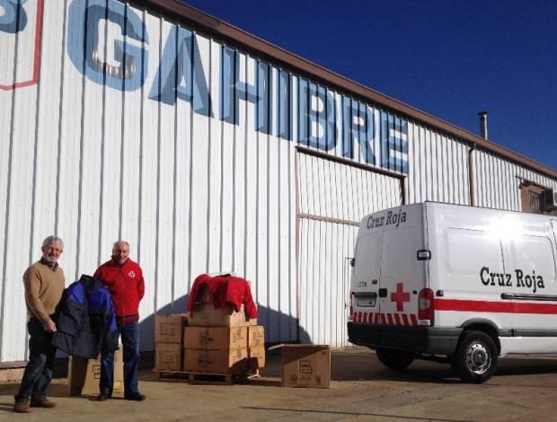 Donacion ropa abrigo cruz roja