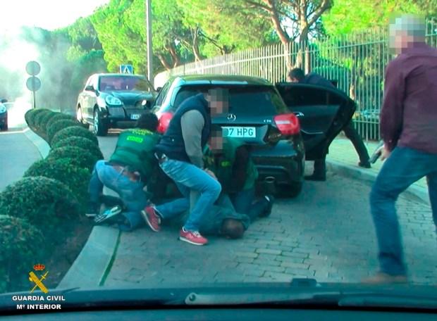 detenidos guardia civil