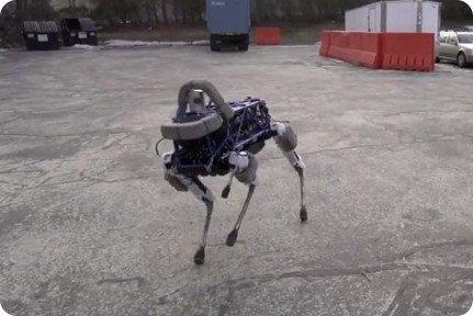 perro robot google spot