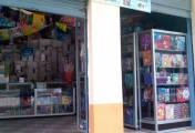 Delincuentes robaron en una papelería