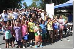 Programa Senda Previene del Municipio de Pucón realizó lanzamiento de campaña preventiva en playa Grande