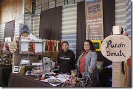 Ante cientos de visitantes se dio inicio al Festival del Chocolate en Pucón (2)