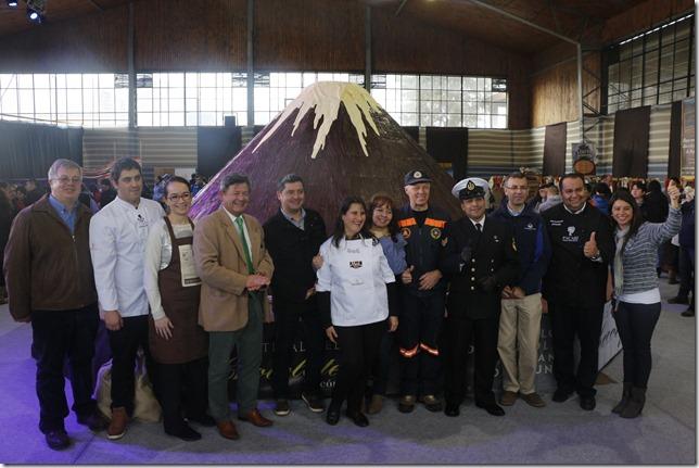 Ante cientos de visitantes se dio inicio al Festival del Chocolate en Pucón (4)