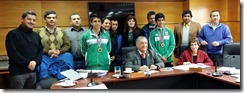 FOTO deportistas puconinos al sudamericano