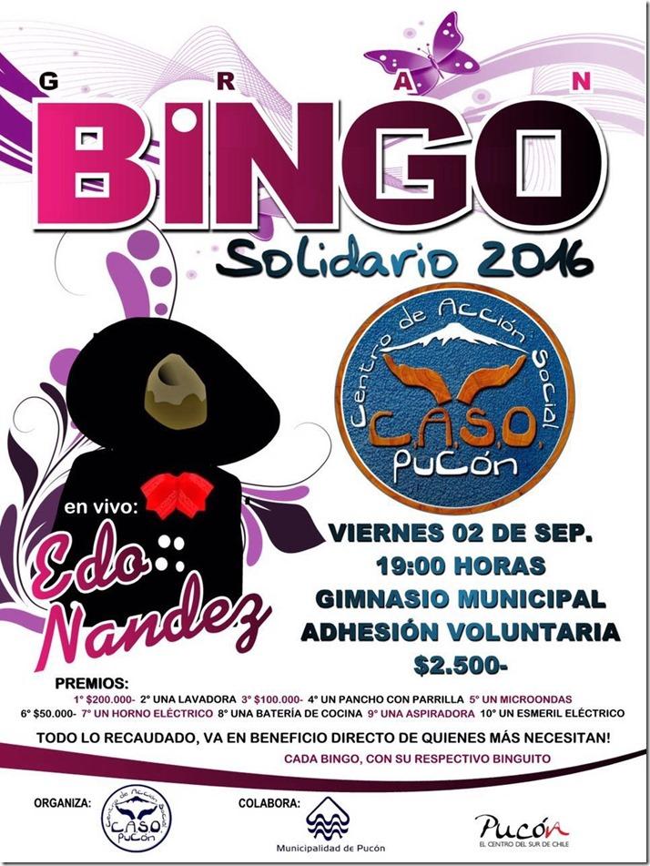 AFICHE bingo solidario