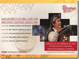 Encuentro cultural mapuche Walüng 250217