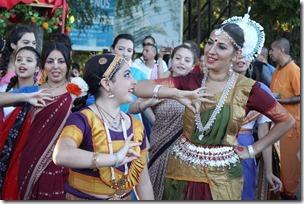 FOTO cierre festival de la india 2