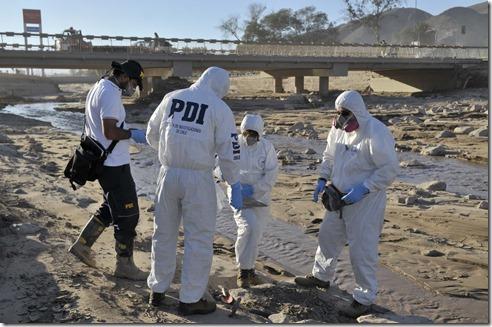 0219 Jenapu Atacama copiapo tragedia trabajos PDI en la III región de Atacama 09-04-2015 csp
