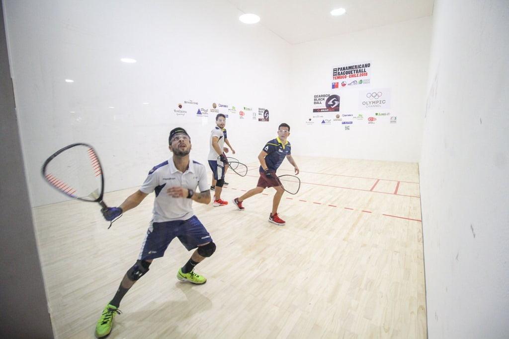 Resultado de imagen para Panamericano de Temuco 2018 Racquet Ecuador
