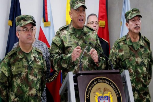 Some 1900 Colombian guerrillas operating from Venezuela, says Colombia military chief