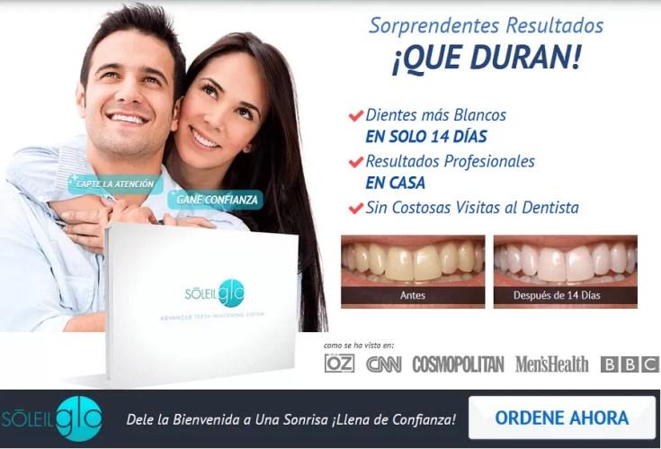 SoleilGLO - Descubra el sistema de blanqueamiento dental disponible más avanzado.