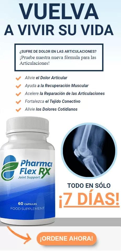 PharmaFlex RX – su solución para la reducción del dolor articular